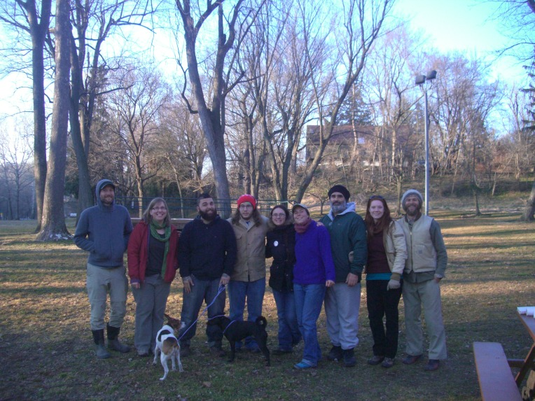Photo of some of the people who attended the 1st gathering of the Susquehanna Permaculture Guild.